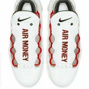 Nike Air More Money Men's White BV2520 100 Size 9